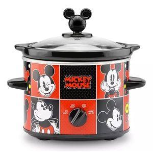 2Qt Mickey Mouse Crock Pot